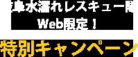Web限定特別キャンペーン